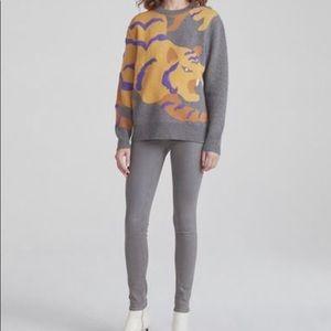 Rag & Bone Jeans The Legging, 32, Light Gray